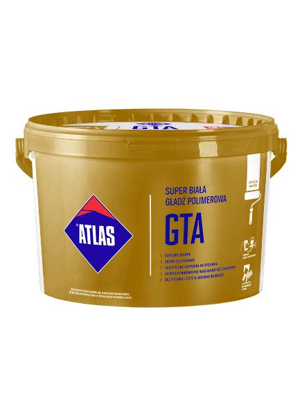 ATLAS GTA Super biała gładź polimerowa 18kg na wałek