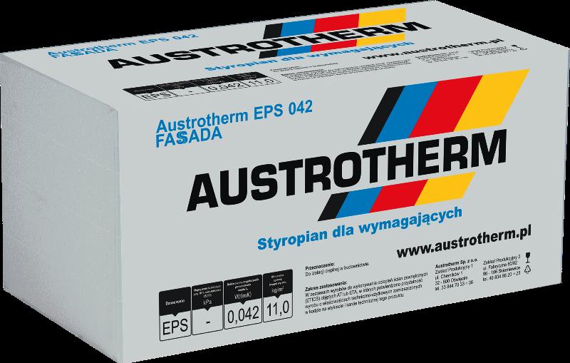Styropian FASSADA AUSTROTHERM 042 FREZOWANY
