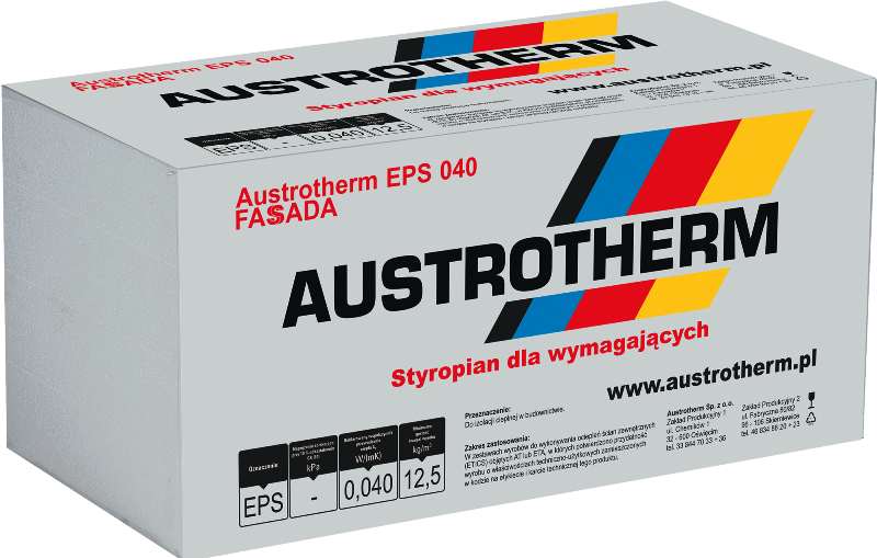Styropian AUSTROTHERM FASSADA EPS 040