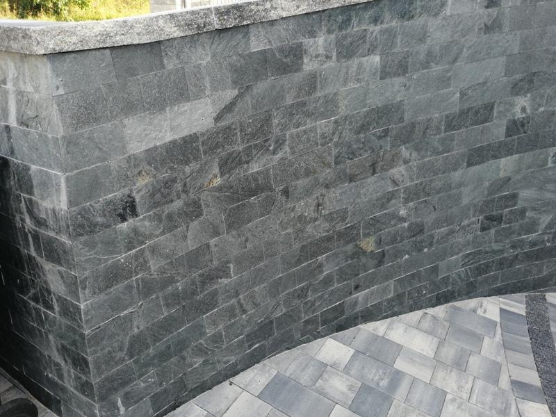 Łupek Grey Brick naturalny 10x30x0,8-1,3 cm