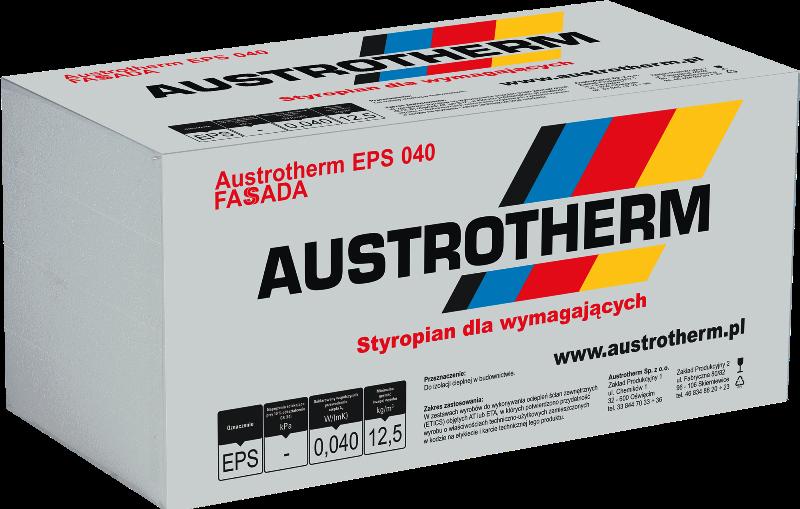 Styropian FASSADA AUSTROTHERM 040 FREZOWANY