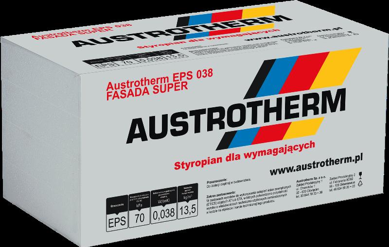 Styropian AUSTROTHERM FASSADA SUPER EPS 038