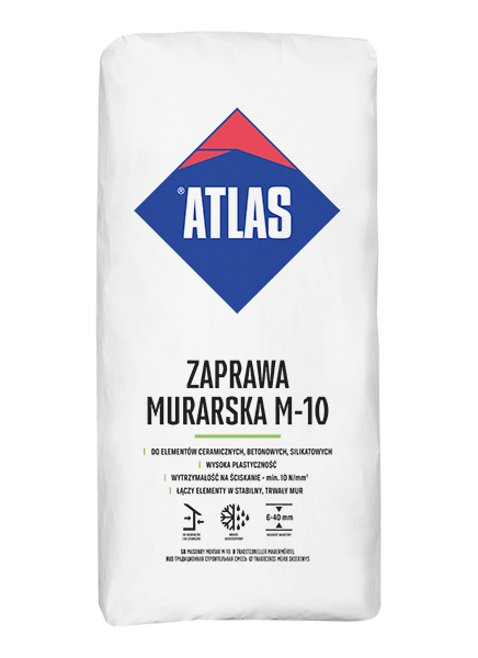 ATLAS M 10 ZAPRAWA MURARSKA 25 KG