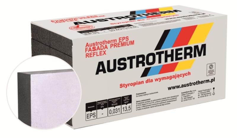 Styropian AUSTROTHERM EPS GRAFIT FASSADA PREMIUM REFLEX